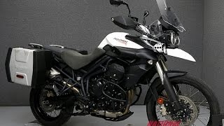 11. 2013  TRIUMPH  TIGER 800 XC W/ABS  - National Powersports Distributors