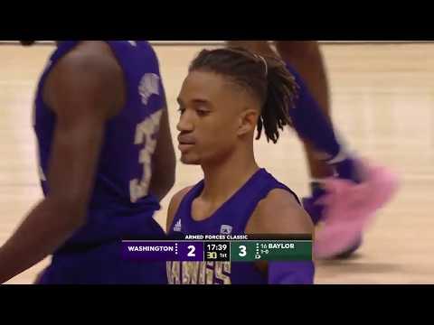 2019 Armed Forces Classic | Washington vs #16 Baylor