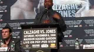 Joe Calzaghe Vs Roy Jones New York Press Conference
