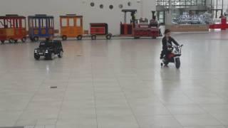 Установка таймеров на детские электромобили