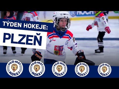 Týden hokeje v Plzni i s českými olympioniky, kteří přivedli k hokeji i své děti