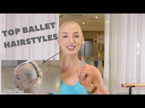 BALLET CLASS HAIRSTYLES