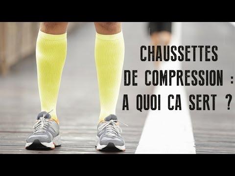 Les chaussettes de compression pour le running : à quoi ça sert ?