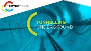 Tunnelling underground