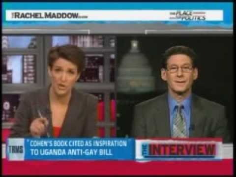 Rachel Maddow & Richard Cohen Interview (pt 1/2) 