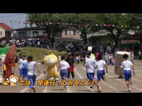 十和田ふぁみりーず 南小学校でかけっこ競争! Vol.229
