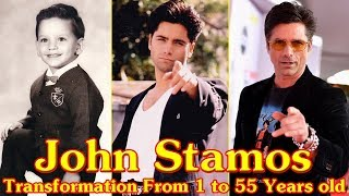 John Stamos transformation From 1 to 55 Years old