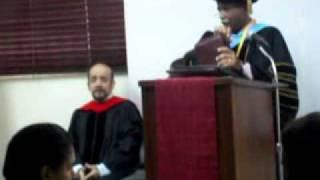 Honoris Causa 2011: Pastor Sonny Caro