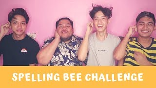 SPELLING BEE CHALLENGE!! ( WITH LLOYD CADENA, KYO QUIJANO & JIRO MORATO )