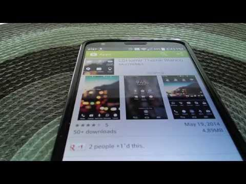 Video of LGHome LG THEME BlkShade