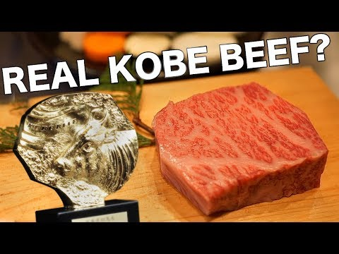 The Truth About Real Kobe Beef