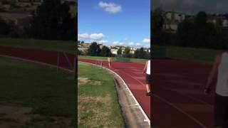 Beer Mile WR attempt