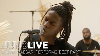 Video Daniel Caesar performs 'Best Part' on JUNO LIVE | JUNO TV MP3, 3GP, MP4, WEBM, AVI, FLV Maret 2018