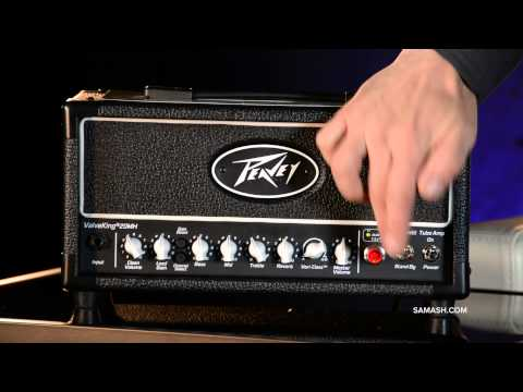 Peavey - BUY IT NOW: http://goo.gl/HI0PKQ STORE LOCATOR: http://samashmusic.com/store-locations/ The original award-winning ValveKing line was designed to feature all...