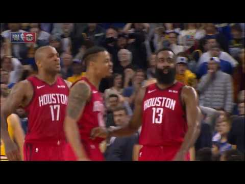 James Harden EPIC Game-Winning Shot vs. Warriors