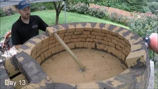 Video My first Pompeii Brick Pizza Oven - Time Lapse Video MP3, 3GP, MP4, WEBM, AVI, FLV Juli 2018