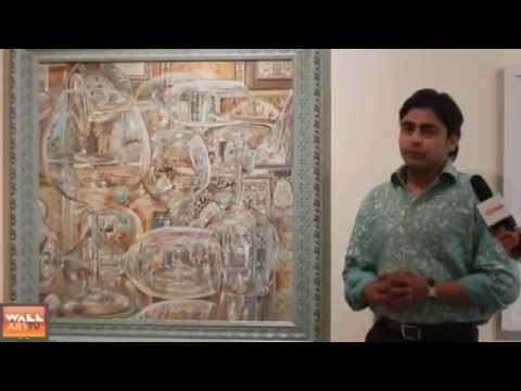 The Wall Art TV: Emerging Artist of the Year Award 2014 - JURY MEET with TAUSEEF KHAN