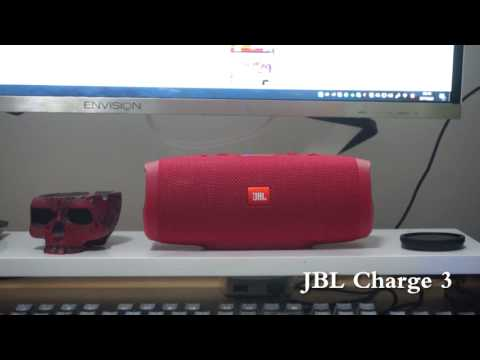 JBL Charge 3 VS Edifer Unknown speaker and many other devices (видео)