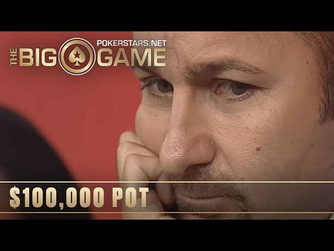 The Big Game S2 ♠️ E1 ♠️ Daniel Negreanu vs Tony G: $100K POT ♠️ PokerStars