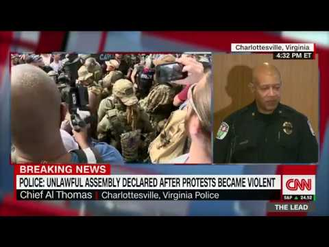 Charlottesville police chief defends response to white nationalist rally violence (entire remarks)