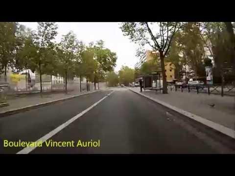 Cycling in Paris - Place de l'Etoile - Avron (Itinéraire officiel 4)