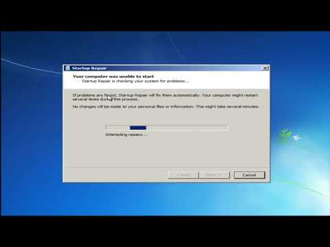 How To Repair Windows 7 And Fix All Corrupted file With CD/DVD [Tutorial]