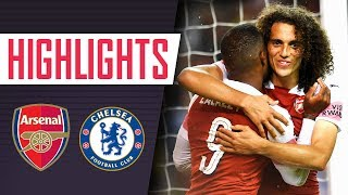 Video A DRAMATIC VICTORY! | Full highlights & penalty shoot-out | Arsenal v Chelsea MP3, 3GP, MP4, WEBM, AVI, FLV April 2019