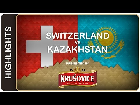 Video :  Hokejisté Kazachstánu porazili Švýcarsko 3:2 po samostatných nájezdech