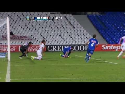 Palo de Ábila. Godoy Cruz 0 – Huracán 0. Fecha 3. Primera División 2015. FPT.