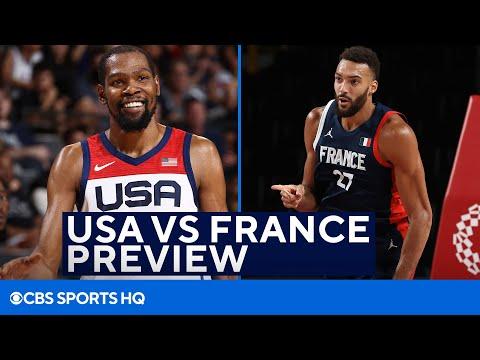 NBA Champion Previews USA Basketball VS France Gold Medal Game at the Tokyo Olympics   CBS Sports HQ