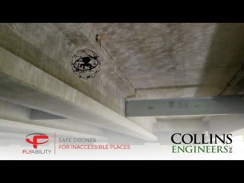 Indoor Drones in Bridge Inspection: Between Beams and inside of Box Girders