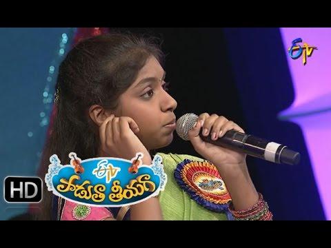 Manasa-Kavvinchake-Song--Neha-Performance-in-ETV-Padutha-Theeyaga--28th-March-2016
