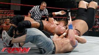 Video Cena vs. Orton vs. Triple H vs. Big Show — Fatal 4-Way WWE Championship Match: Raw, June 15, 2009 MP3, 3GP, MP4, WEBM, AVI, FLV Juli 2019