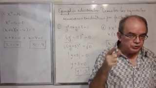 Algebra Intermedia - Lección 34 - A (resolviendo Ecuaciones Cuadráticas Por Factorización)