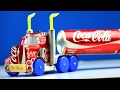 How To Make A Coca Cola Truck With Dc Motor  Awesome Coca Cola Truck