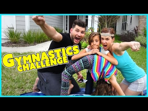 GYMNASTICS CHALLENGE | FAMILY EDITION | SMELLY BELLY TV (видео)