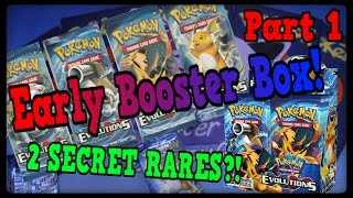 EARLY XY EVOLUTIONS Booster Box Part 1/2 Prize Packs by Master Jigglypuff and Friends