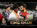 When SRK and Virat Kohli hugs l Eden Gardens l KKR vs RCB waptubes