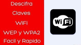 Descifrar contraseñas WIFI wep y wpa2 Facil y Rapido | Router keygen PC