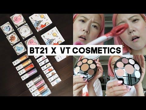 BTS: BT21 x VT Cosmetics Review (London & NYC Meet & Greet)  Q2HAN