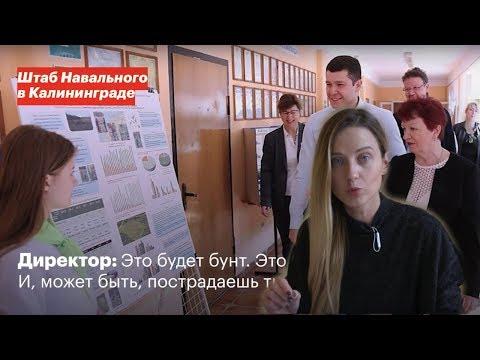 Сторонница Навального против директора школы / Калининград / запись разговора - DomaVideo.Ru