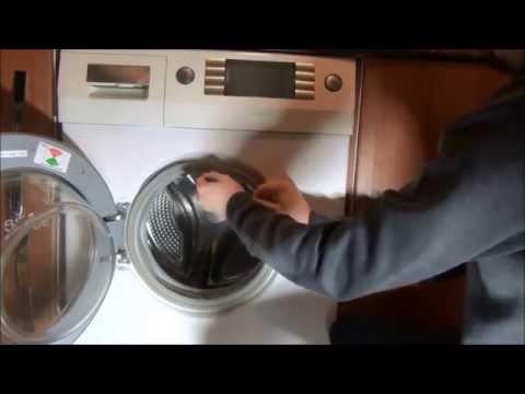 Siemens Serie IQ 1430 Washing Machine : Door seal Repair