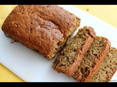 Banana & walnut Cake Eggless – Eggless baking recipes