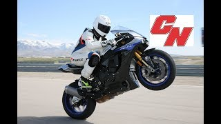 1. 2018 Yamaha YZF-R1 and YZF-R1M Track Review - Cycle News