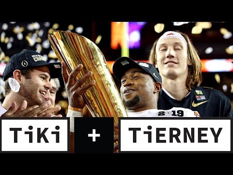 Video: Clemson Destroys Alabama | Tiki + Tierney
