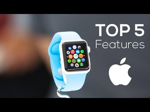 Top 5 Apple Watch Features!