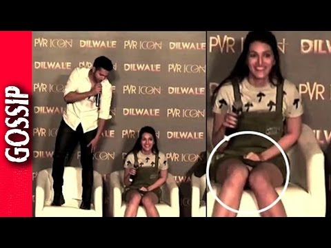 Kriti Sanon Suffer Wardrobe Malfunction - Bollywood Gossip 2017