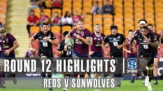 Reds v Sunwolves Rd.12 2019 Super rugby video highlights | Super Rugby Video Highlights