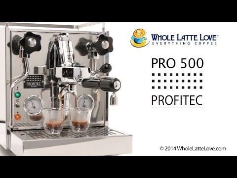 Sneak Peak: Profitec Pro 500 Espresso Machine
