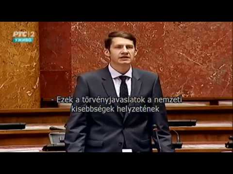 Pásztor Bálint: Bővülnek a kisebbségek jogai Szerbiában-cover